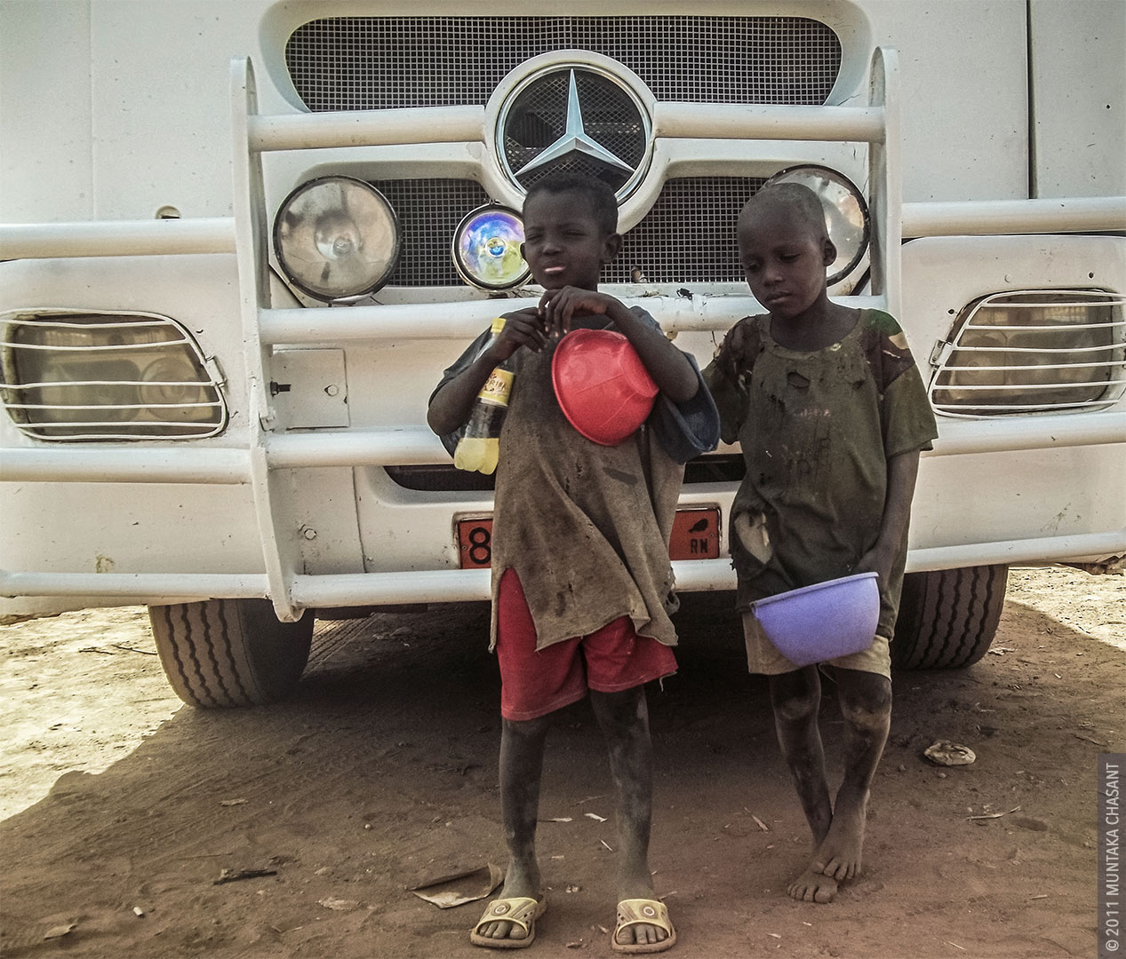 Talibe Child Beggars in Niger, West Africa, by Muntaka Chasant