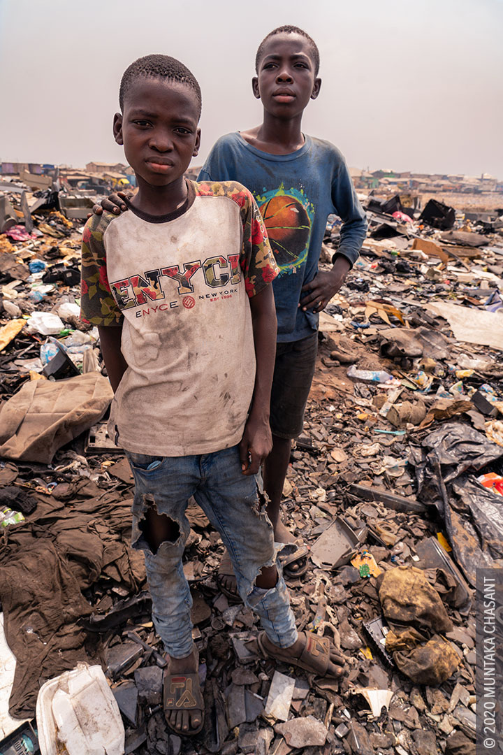 Children of Agbogbloshie: Adama and Malik