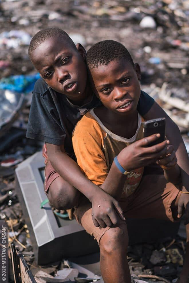 Children of Agbogbloshie: Twum and Yaw