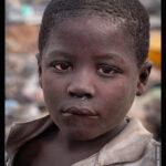 A 7 years old Hazardous Child Labourer nicknamed 'Akufo-Addo' at Agbogbloshie, Ghana. © 2020 Muntaka Chasant