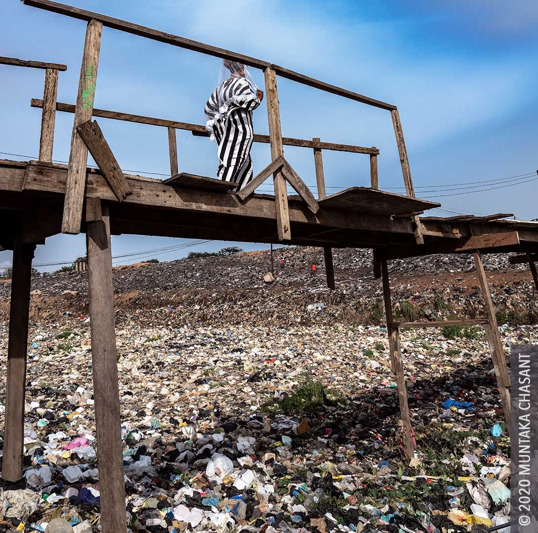 Plastic Pollution in Ghana. Ghana is facing a plastic waste crisis. © 2020 Muntaka Chasant