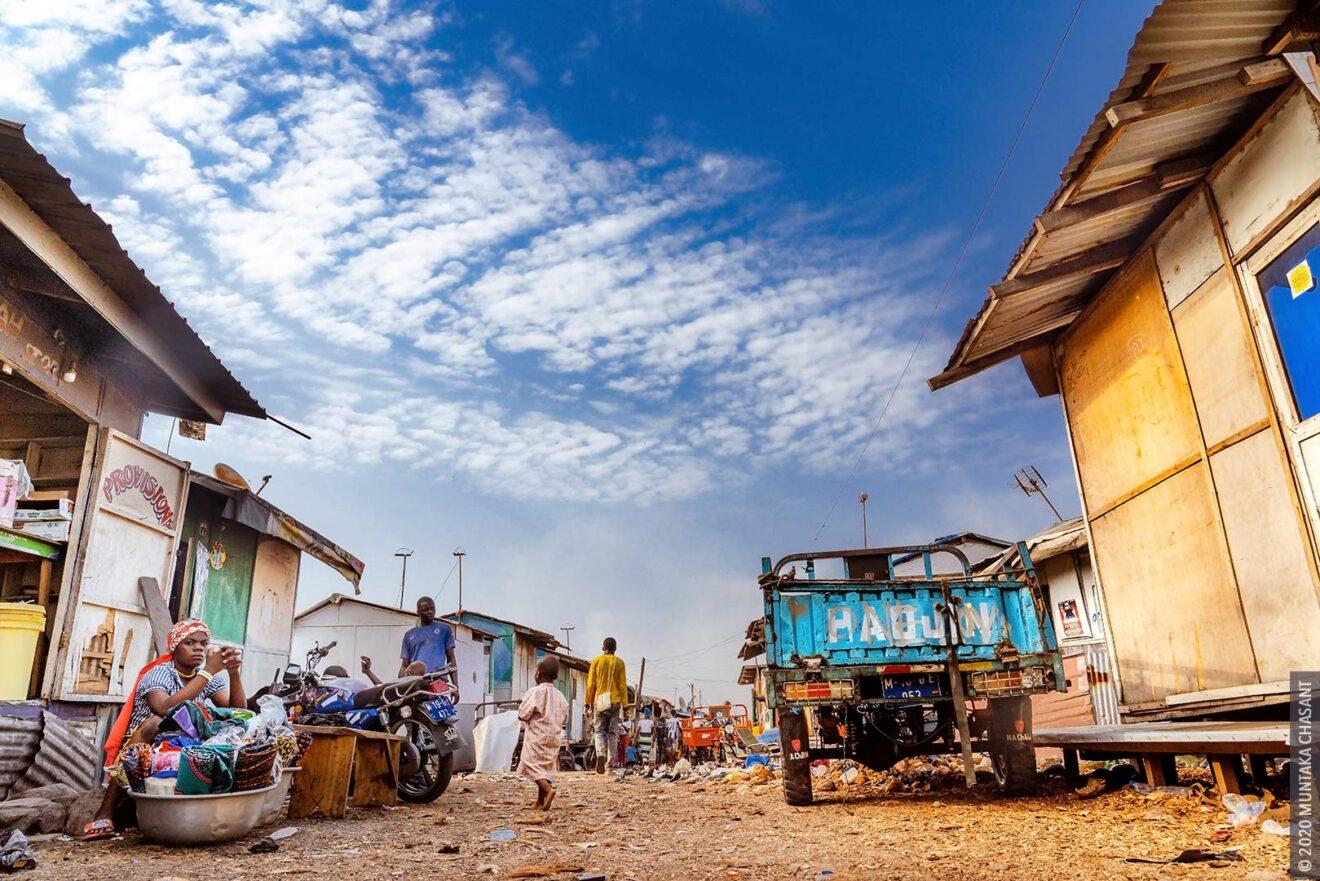 Sodom and Gomorrah, Ghana — Agbogbloshie 2020. © 2020 Muntaka Chasant