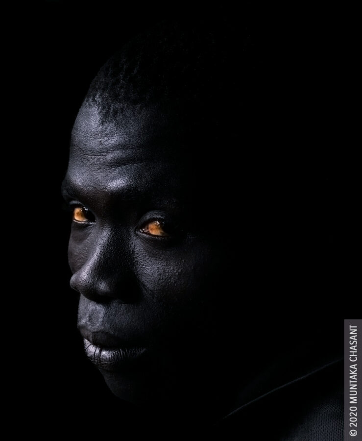Urban man portrait. © 2020 Muntaka Chasant