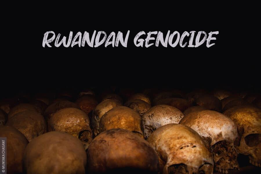 Rwandan Genocide Skulls. © 2013 Muntaka Chasant