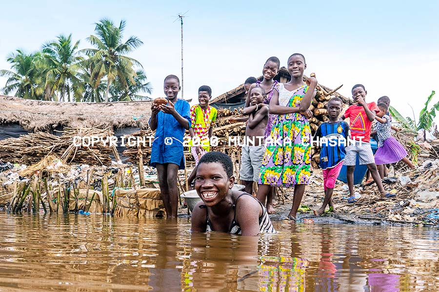 African children smiling: An estimated 2 in every 5 children (more than 300 million) African children will be living in extreme poverty by 2030, according to the Think Tank Overseas Development Institute. Copyright © 2020 Muntaka Chasant