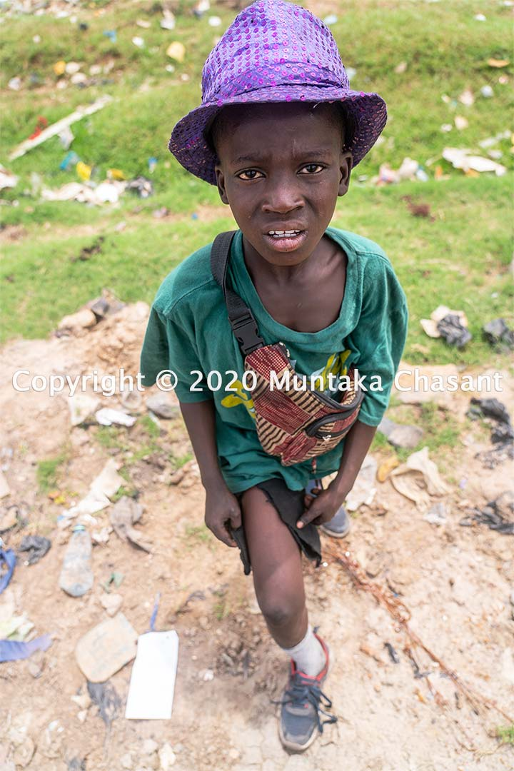 Child poverty in Africa:' 11-year-old Ibrahim Tanko is engaged in hazardous child labour in Accra, Ghana. He uses his bare hands and stones to dismantle e-waste. An estimated 2 in and every 5 children in African will be living in extreme poverty by 2030, according to ODI. Copyright © 2020 Muntaka Chasant