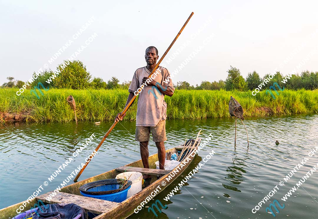 Portrait of an urban poor fisherman. Ghana. Copyright © 2020 Muntaka Chasant