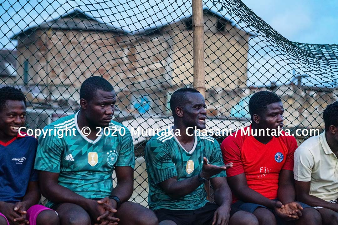 Joshua Clottey at Jamestown, Accra, Ghana. Copyright © 2020 Muntaka Chasant