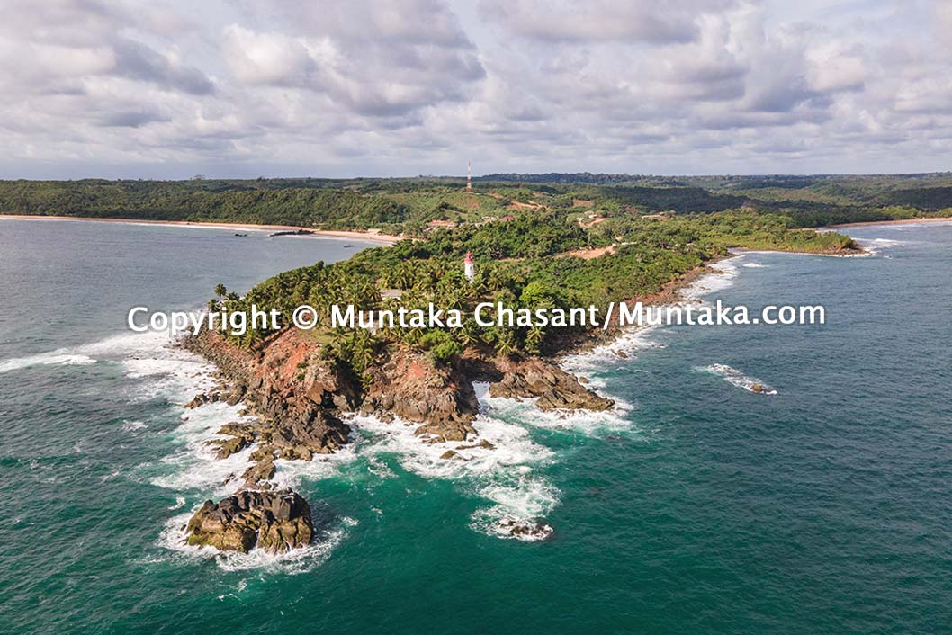 Cape Three Points Aerial view. Copyright © Muntaka Chasant