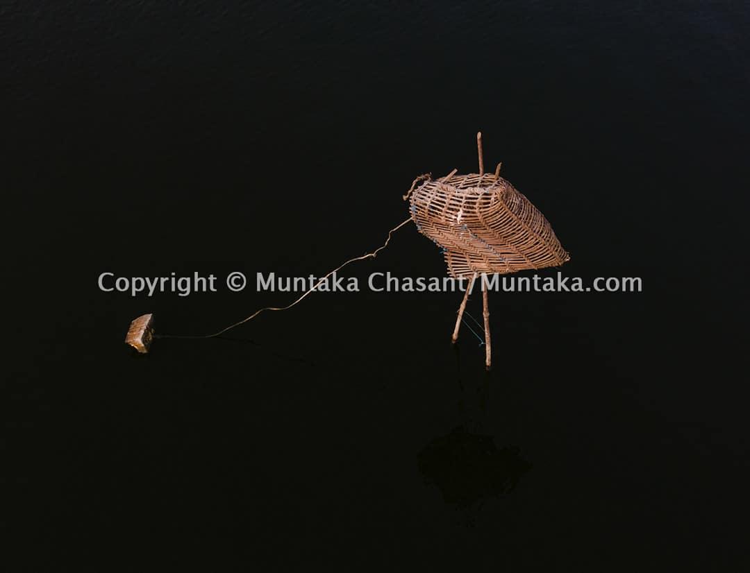 """Eha"" is a handmade blue crab trap among Ewe fishermen in Ghana. Copyright © Muntaka Chasant"