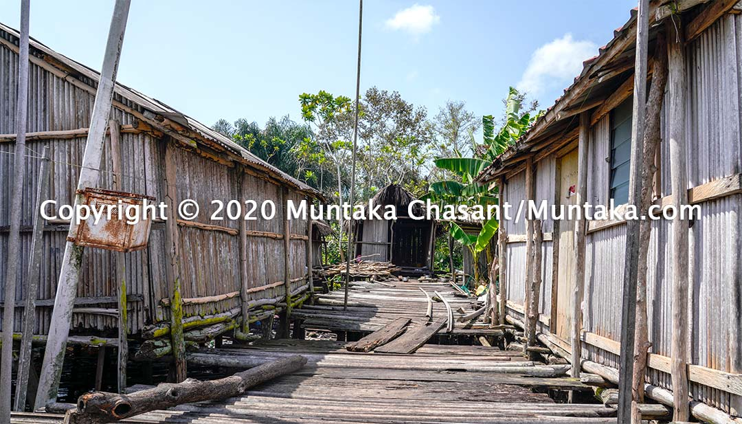 Nzulezo photo. Copyright © 2020 Muntaka Chasant