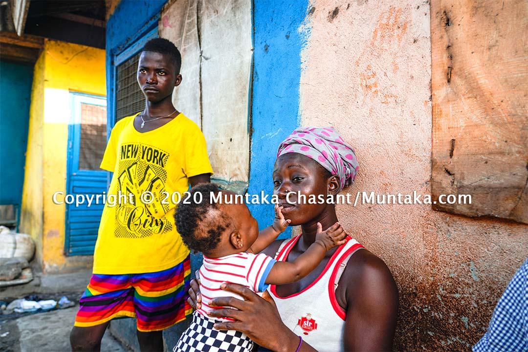 Urban poverty conversation. Copyright © 2020 Muntaka Chasant