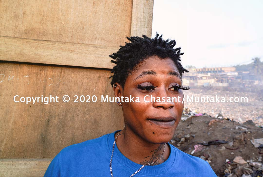 Sex workers in Accra. Copyright © 2020 Muntaka Chasant