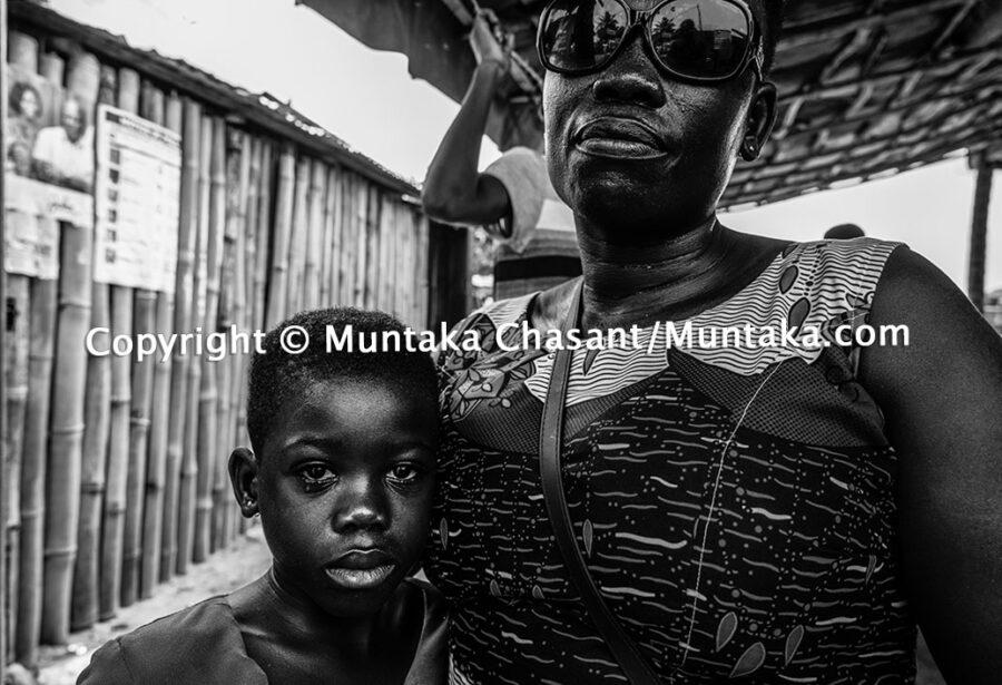 Struggles of a single mother. Copyright © Muntaka Chasant