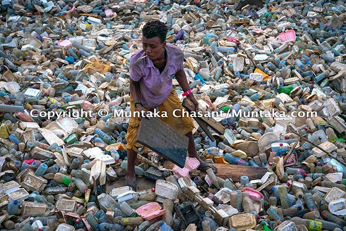 Plastic Pollution and Urban Poverty