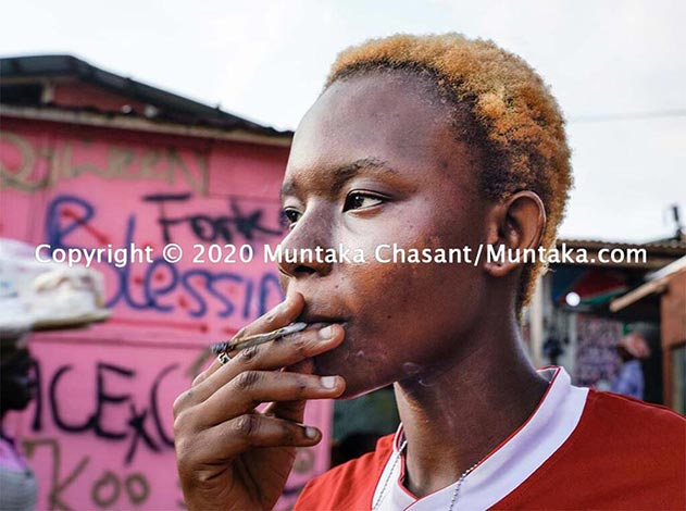 Young Women At The Front Lines of Urban Poverty