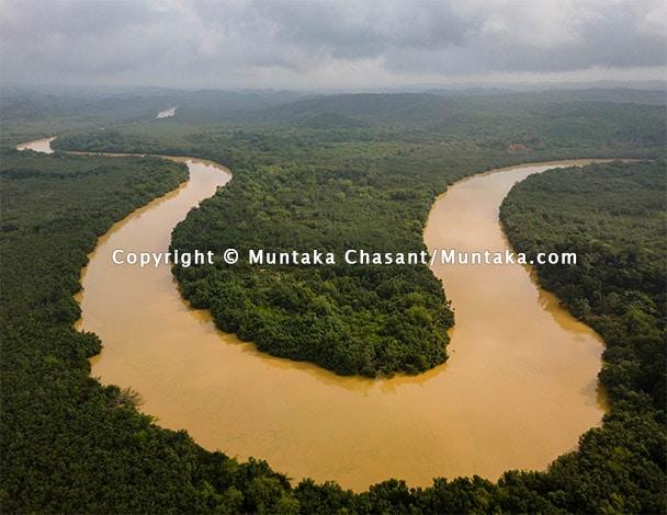 "Illegal Gold Mining ""Galamsey"" Pollutes River Ankobrah, Ghana"