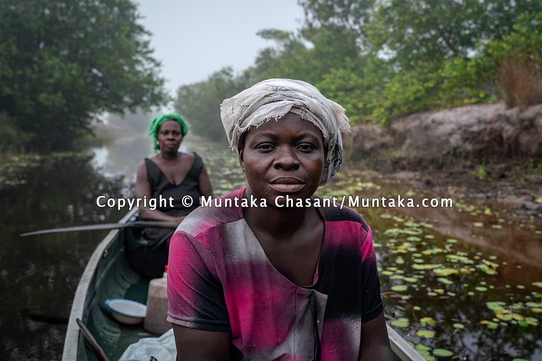 Wetlands and people in distress. Copyright © 2021 Muntaka Chasant