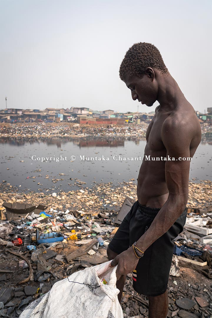 Urban poverty in Ghana. Copyright © 2021 Muntaka Chasant
