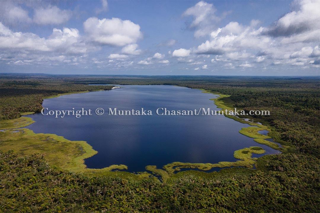 Amanzule Lake. Copyright © Muntaka Chasant