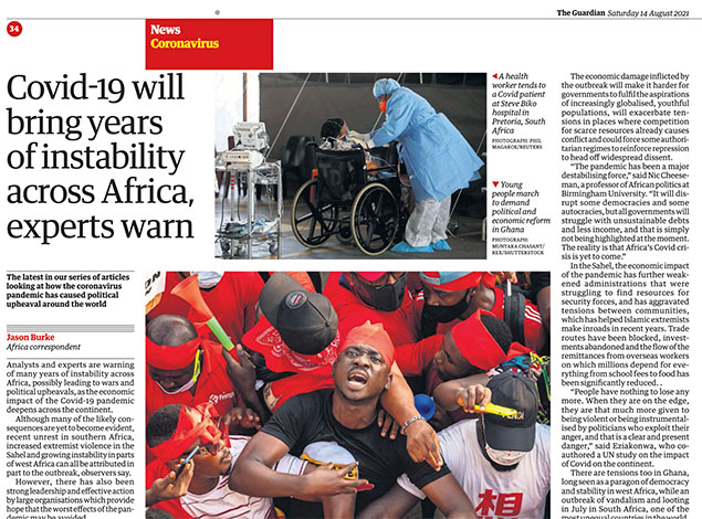 2021 Tearsheets: The Guardian